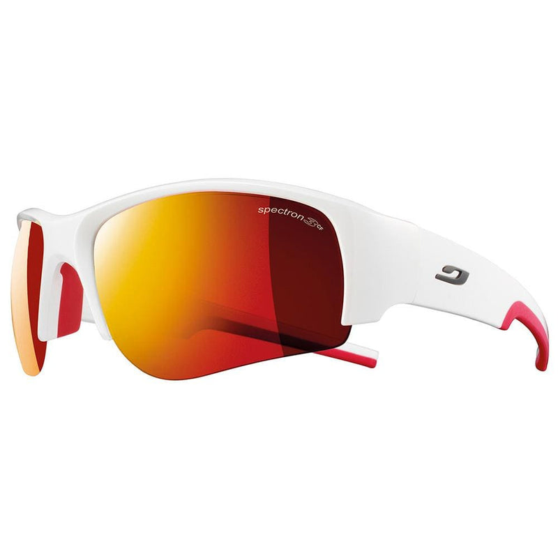 Julbo Other Gear Julbo Dust Sunglasses Matt White/Red Spec 3 Red Flash J4331113