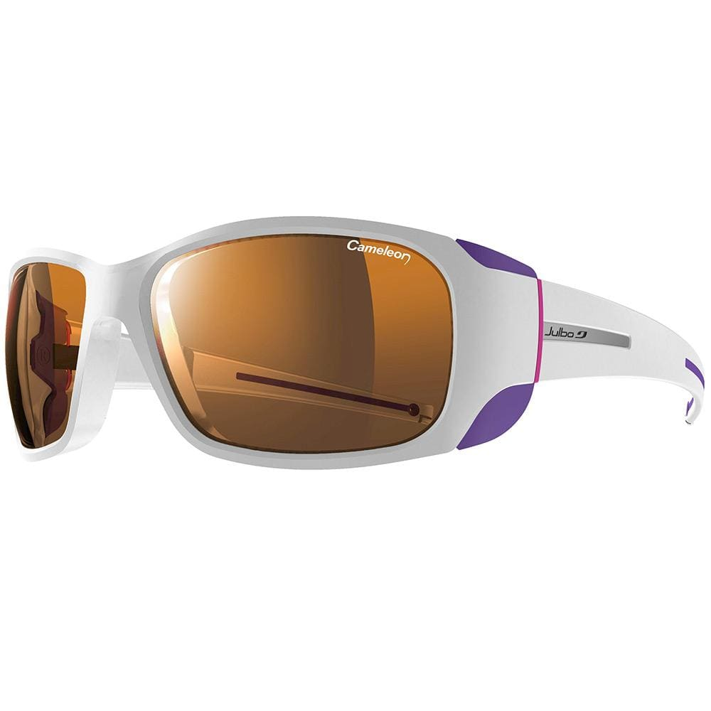 Julbo Other Gear Julbo Monterosa Sunglasses White/Purple Cameleon 2-4 J4015011
