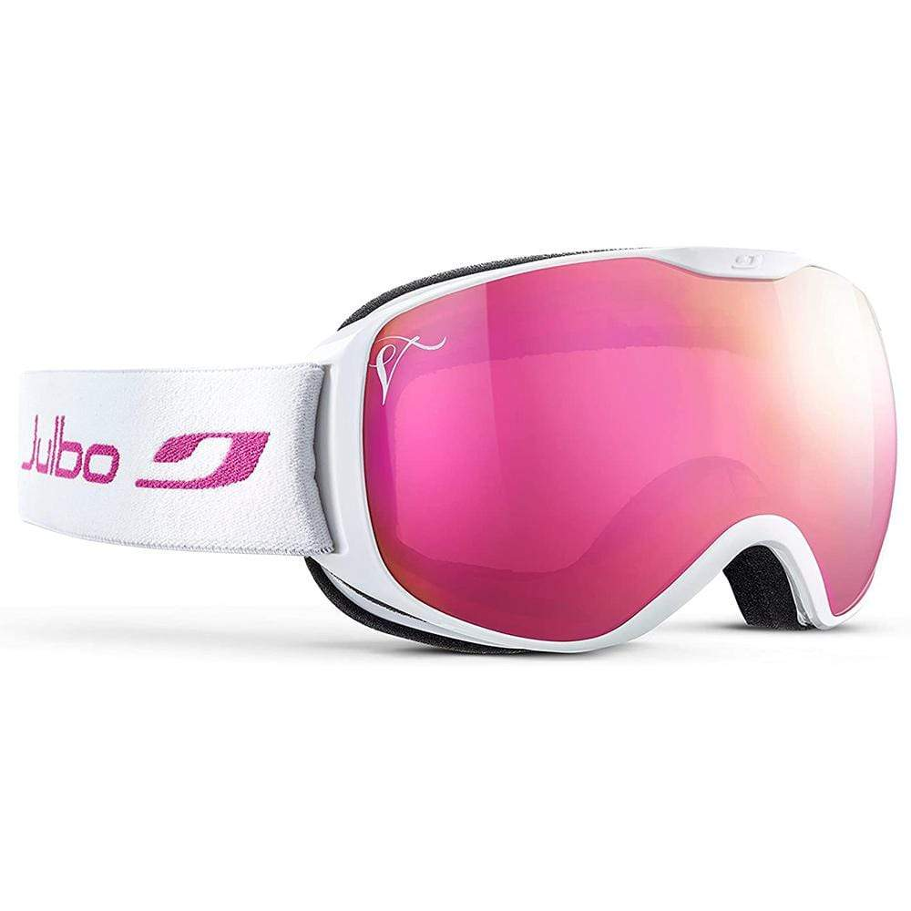 Julbo Other Gear Julbo Pioneer Goggle White Flash Pink Spectron 2 J73112117