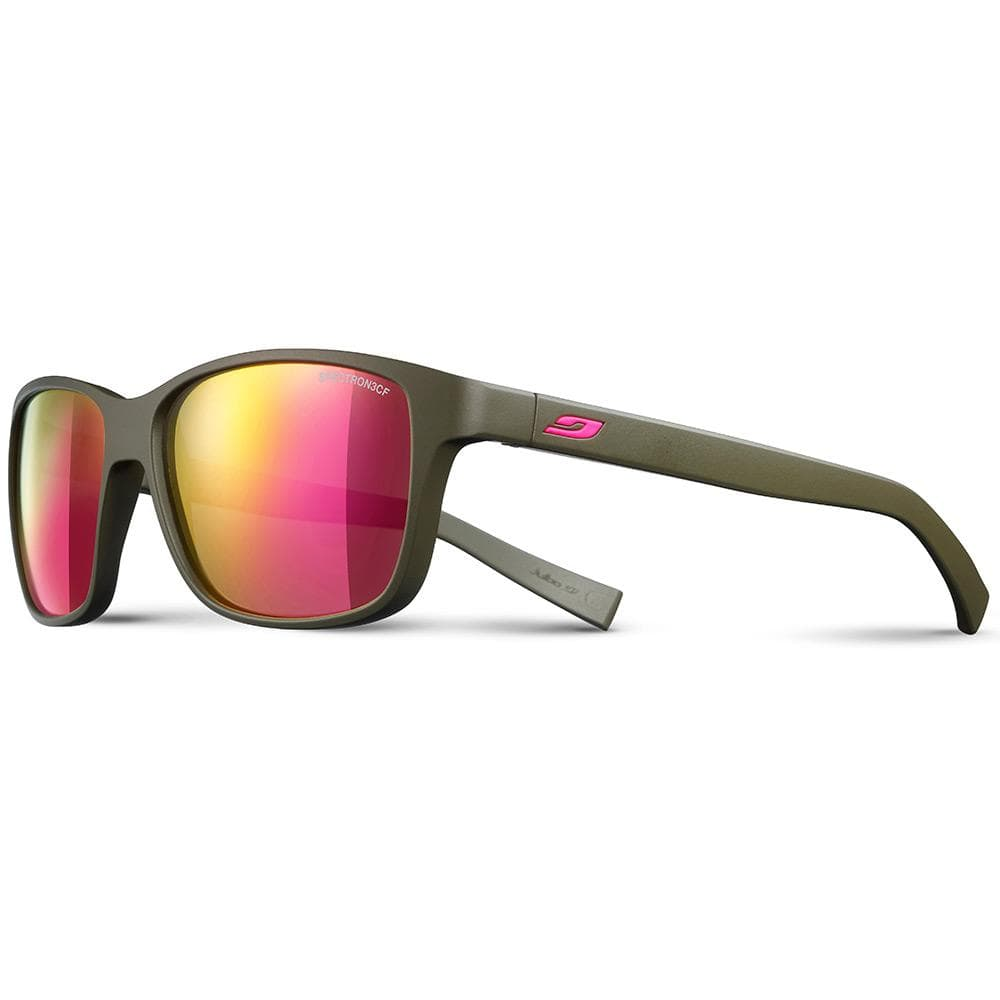 Julbo Other Gear Julbo Powell Sunglasses Matt Army/Dark Pink Spec 3 CF J4751154