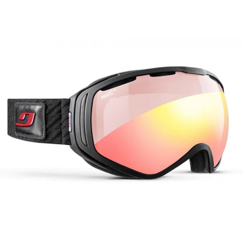 Julbo Other Gear Julbo Titan Goggle Black Zebra Light Red Over The Glasses J80231146