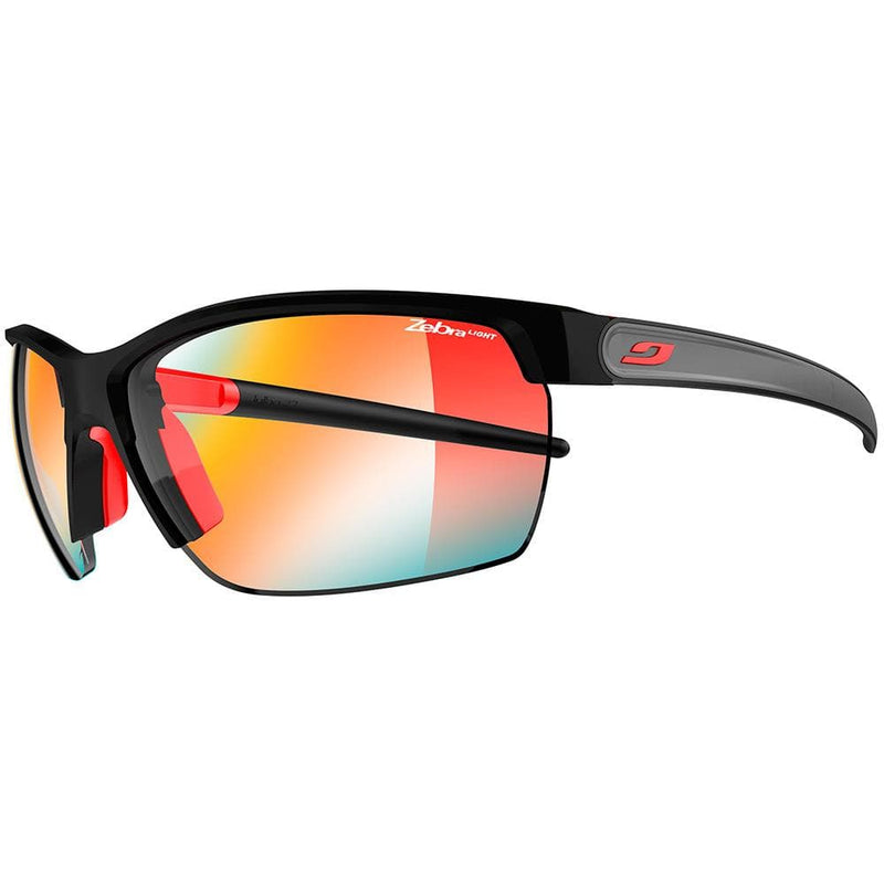 Julbo Other Gear Julbo Zephyr Sunglasses Black/Red Zebra Light 1-3 J4843122