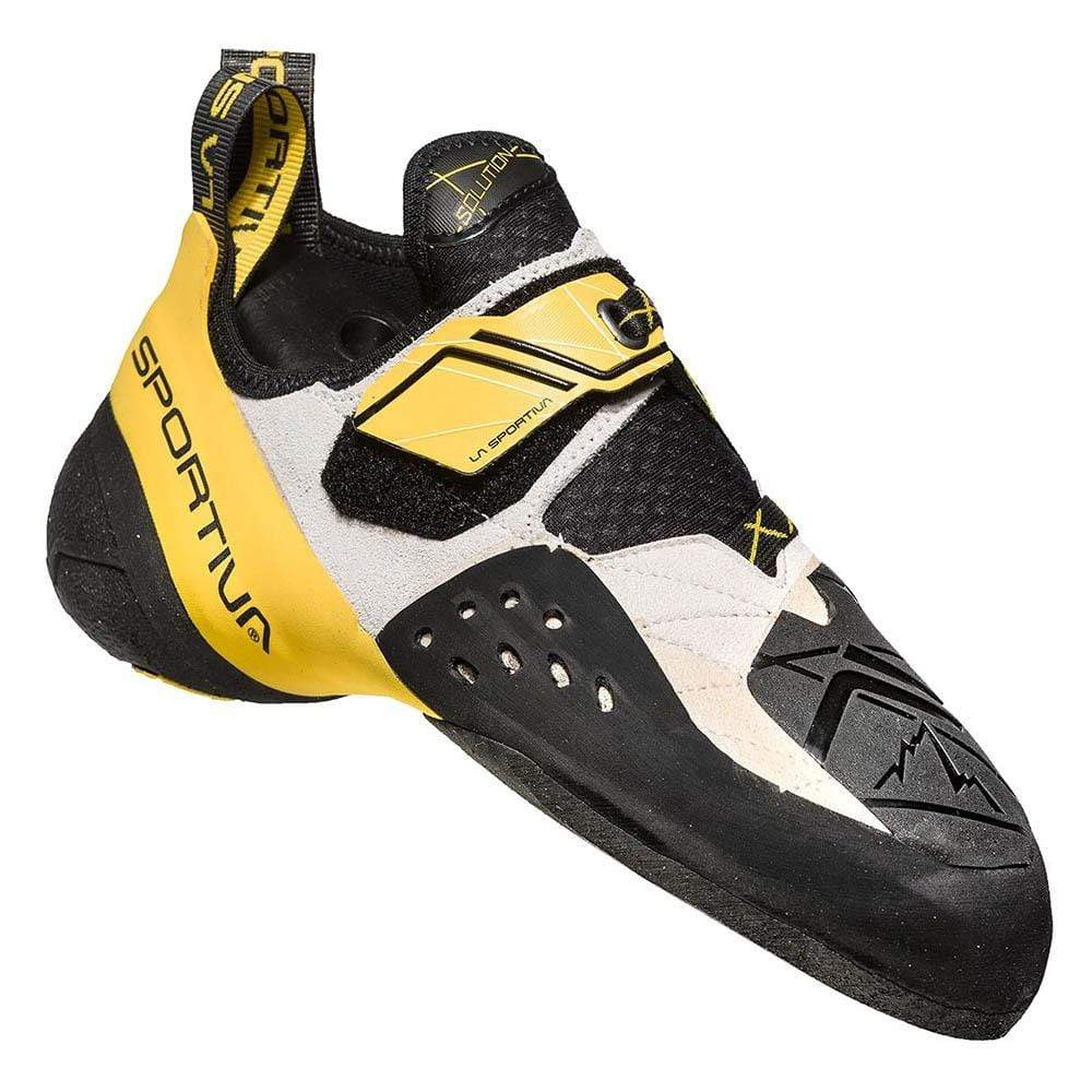 La Sportiva Other Gear La Sportiva Solution Men EU 38.5 / White/Yellow LAS199WY385