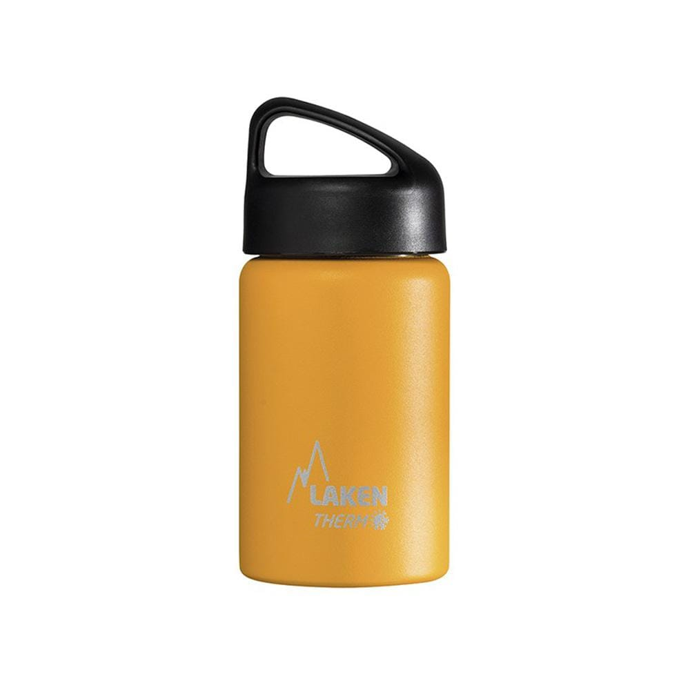 Laken Other Gear Laken Wide Mouth Classic Thermo Bottle 0.35L 350mL / Yellow LAKTA3Y