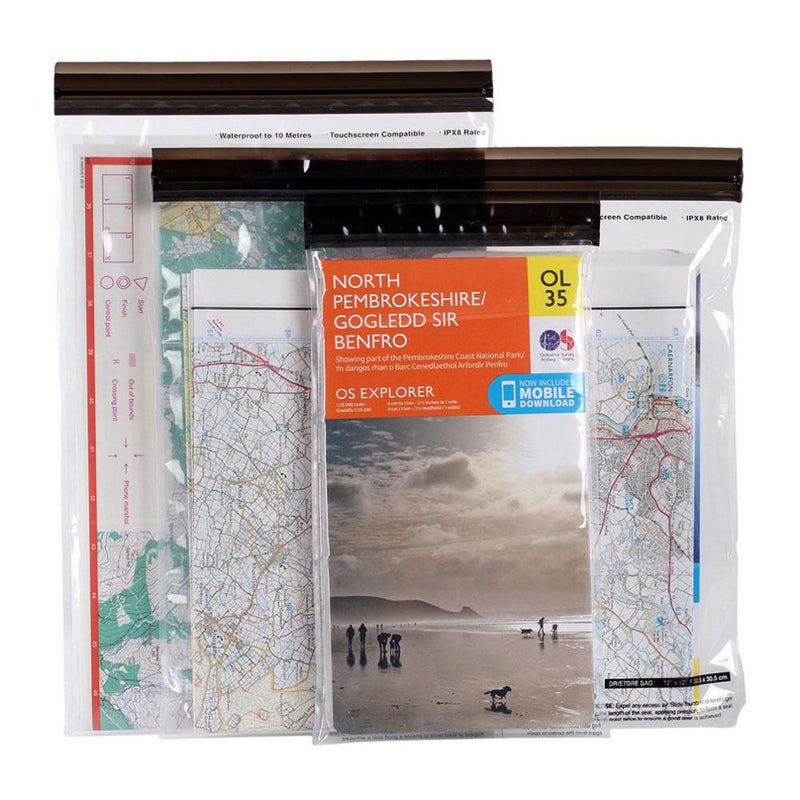 Lifeventure Other Gear Lifeventure DriStore LocTop Bags - For Maps LV59240