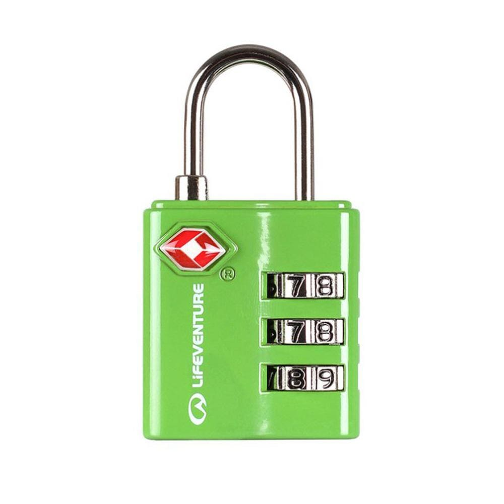 Lifeventure Other Gear Lifeventure TSA Combi Lock Green LV72040