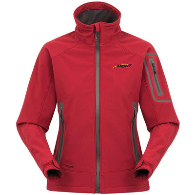 Mont Women Amelie Softshell Jacket Women Clearance 8 / Red Spice 40.04.12
