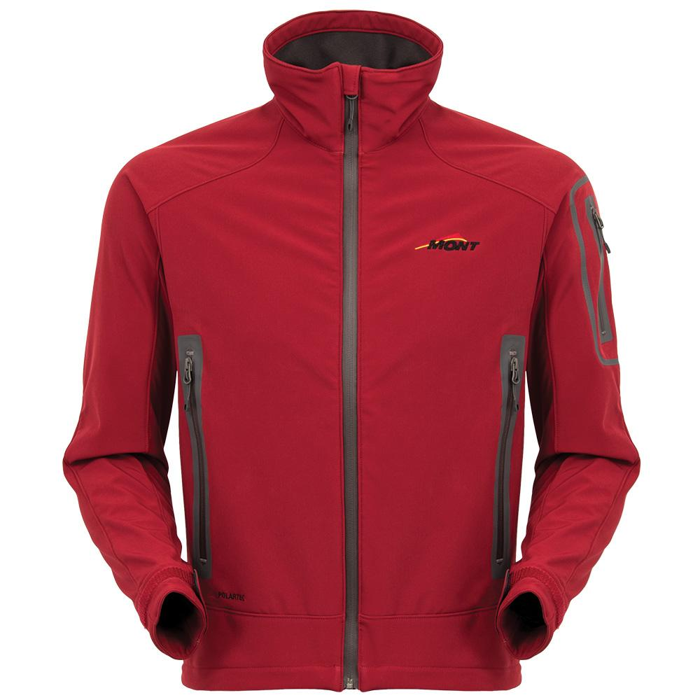 Mont Men Ascent Softshell Jacket Men Clearance SM / Red Spice 40.03.24