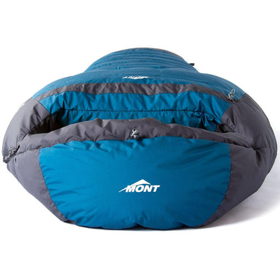 Mont Sleeping Bags Brindabella XT 850 -10 to -16°C Down Sleeping Bag