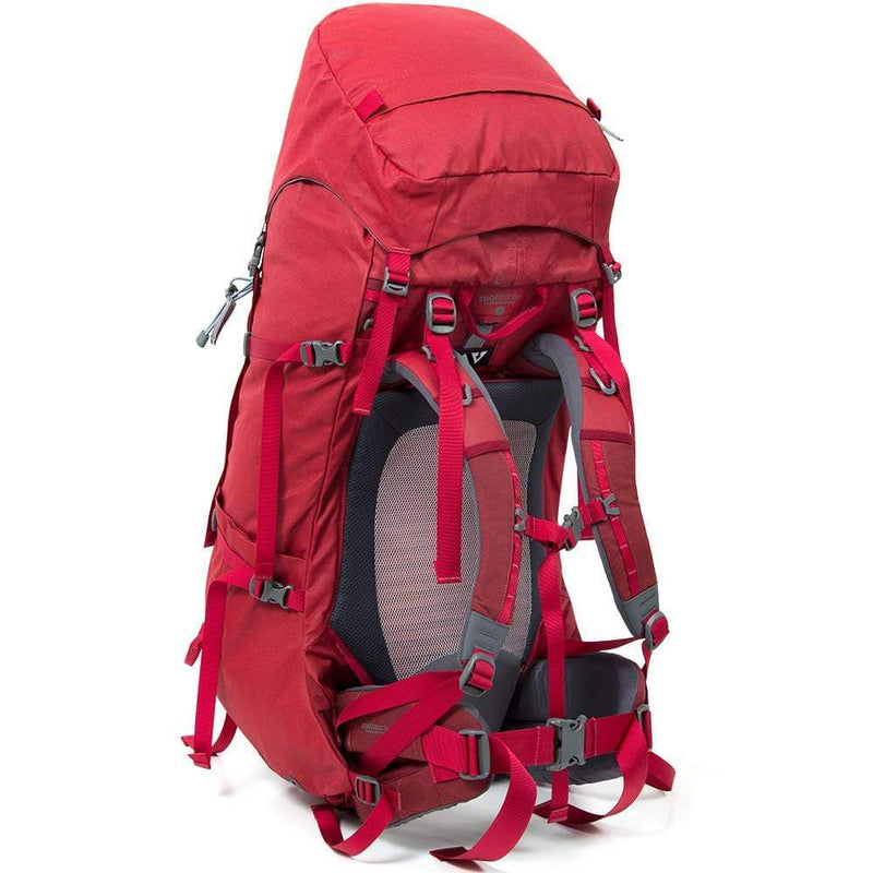 Mont Packs & Bags Escape 70L Canvas Backpack Large 75L / Garnet 65.25.44