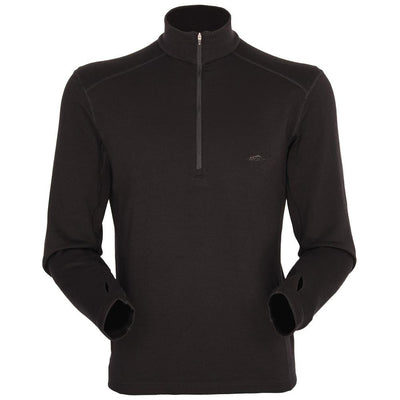 Mont Men Merino 320 Long Sleeve Zip Men XS / Black 68.86.11