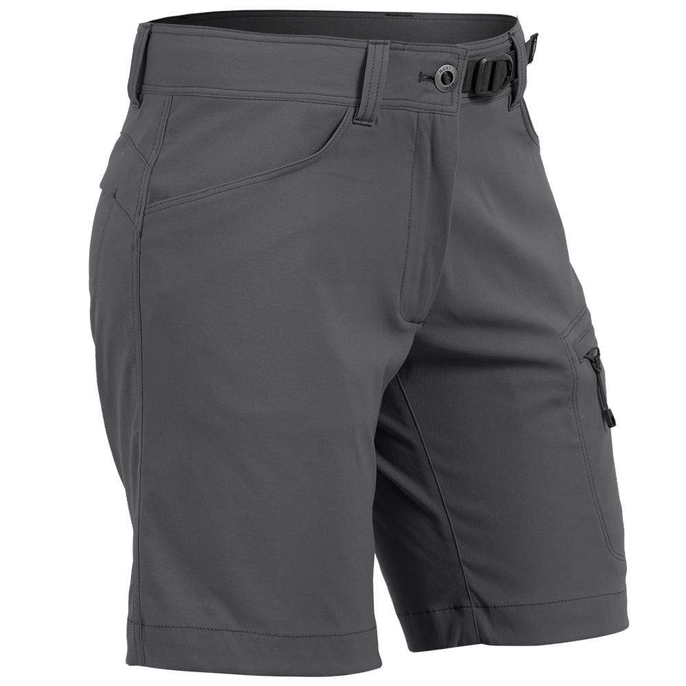 Mont Women Mojo Stretch Shorts Women 8 / Charcoal 68.94.11