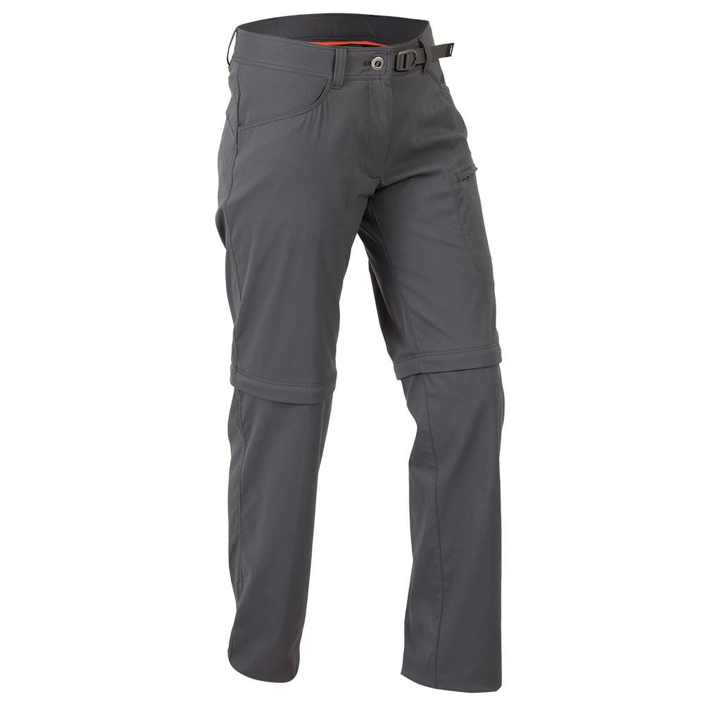 Mont Women Mojo Stretch Zip-Off Pants Women 8 / Charcoal 68.95.11