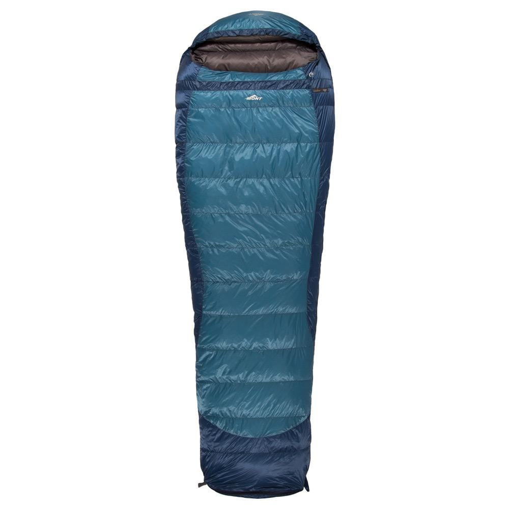Mont Sleeping Bags Nadgee XT 0 to -6°C Down Sleeping Bag Clearance