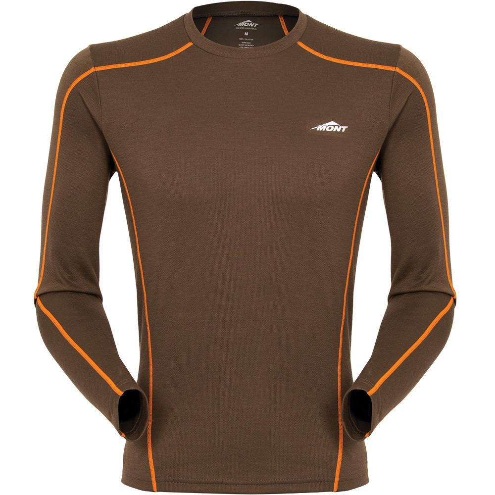 Mont Men Power Dry Long Sleeve Crew Men Clearance