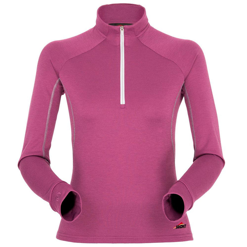 Power Dry Long Sleeve Zip Polo Women Clearance