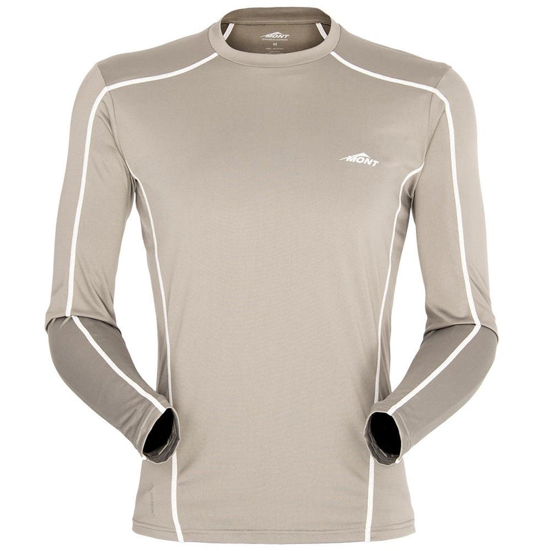 Power Dry Silk Weight Long Sleeve Crew Men Clearance
