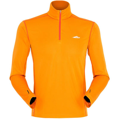 Mont Men Reactor Long Sleeve Zip Tee Men 2XL / Marmalade 68.30.63