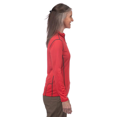 Reactor Long Sleeve Zip Tee Women