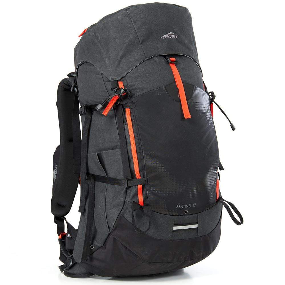 Mont Packs & Bags Sentinel 42L/45L Canvas Backpacks SM 42L / Black 65.30.21