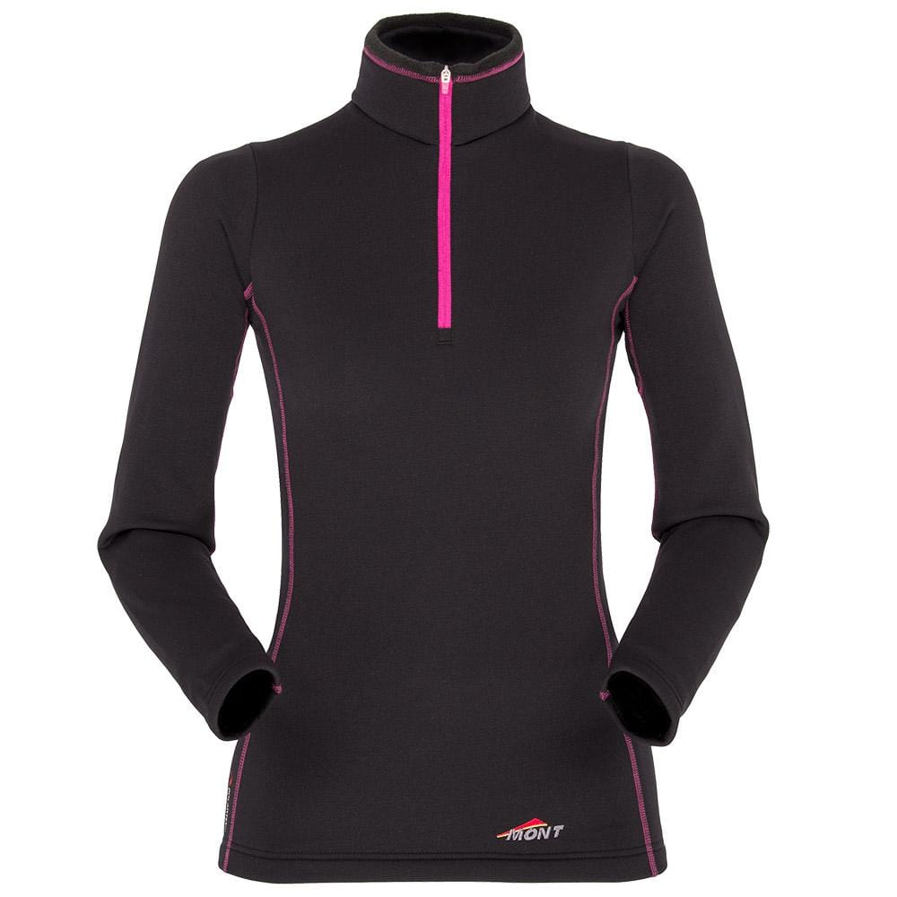 Mont Women Slinx Zip Polo Black/Pink Women Clearance