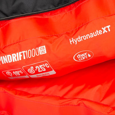 Mont Sleeping Bags Spindrift XT 850 -13 to -19°C Down Sleeping Bag