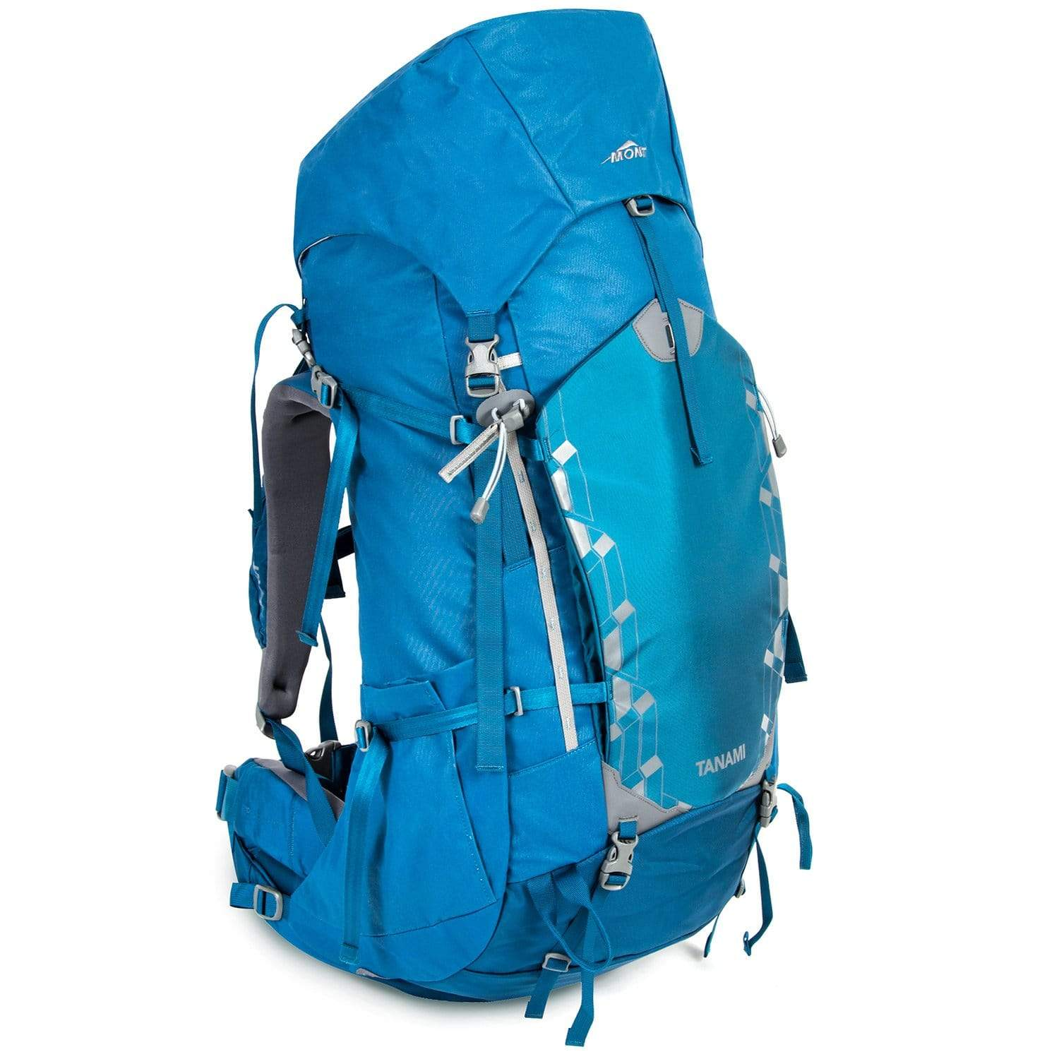 Mont Packs & Bags Tanami 60L Canvas Backpack LG / Ocean Blue 65.39.41