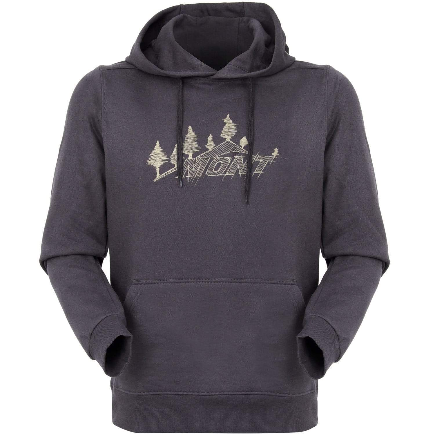 Mont Men Treeline Organic Hoodie Clearance XS / Shadow 91.10.11