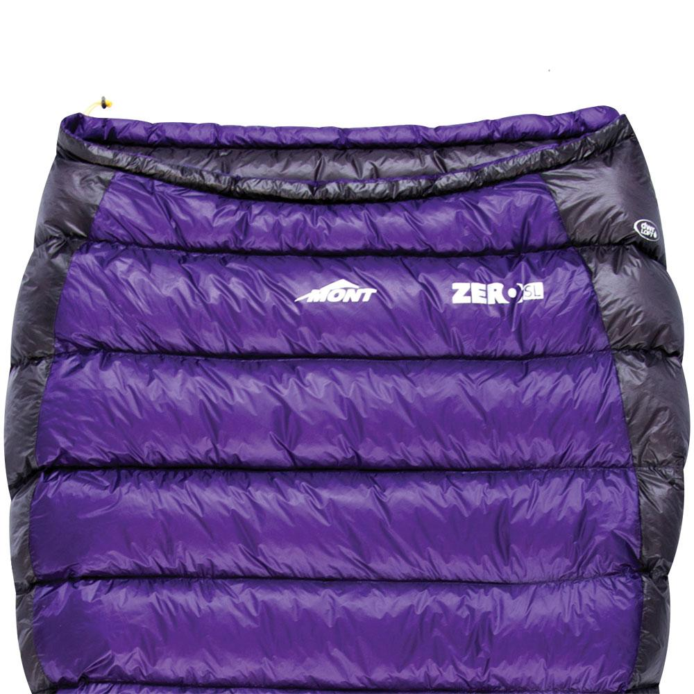 Mont Sleeping Bags Zero Super Light 8 to 2°C Down Sleeping Bag 10.32.11L
