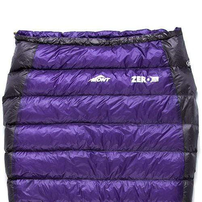 Mont Sleeping Bags Zero Ultra Light 13 to 7°C Down Sleeping Bag 10.30.11L