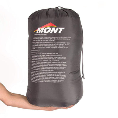 Mont Sleeping Bags Zodiac 350 6 to 1°C Down Sleeping Bag