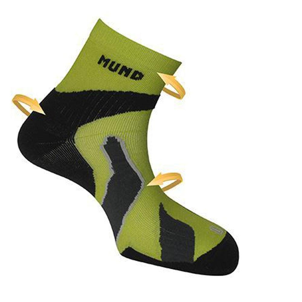 Mund Other Gear Mund Ultra Raid Socks L (EU 42-45) / Green MUN33805L