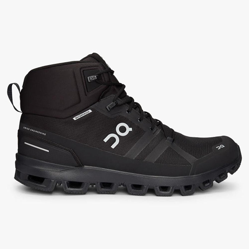 On Other Gear On Cloudrock Waterproof Men US 8 / All Black 23.99854-M-080