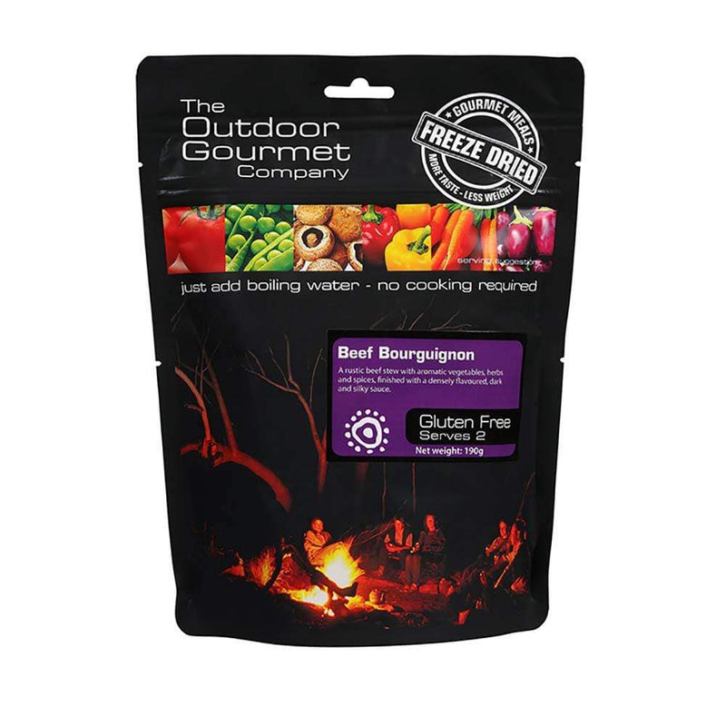 Outdoor Gourmet Food : Food GST NA Outdoor Gourmet Beef Bourguignon OGC231