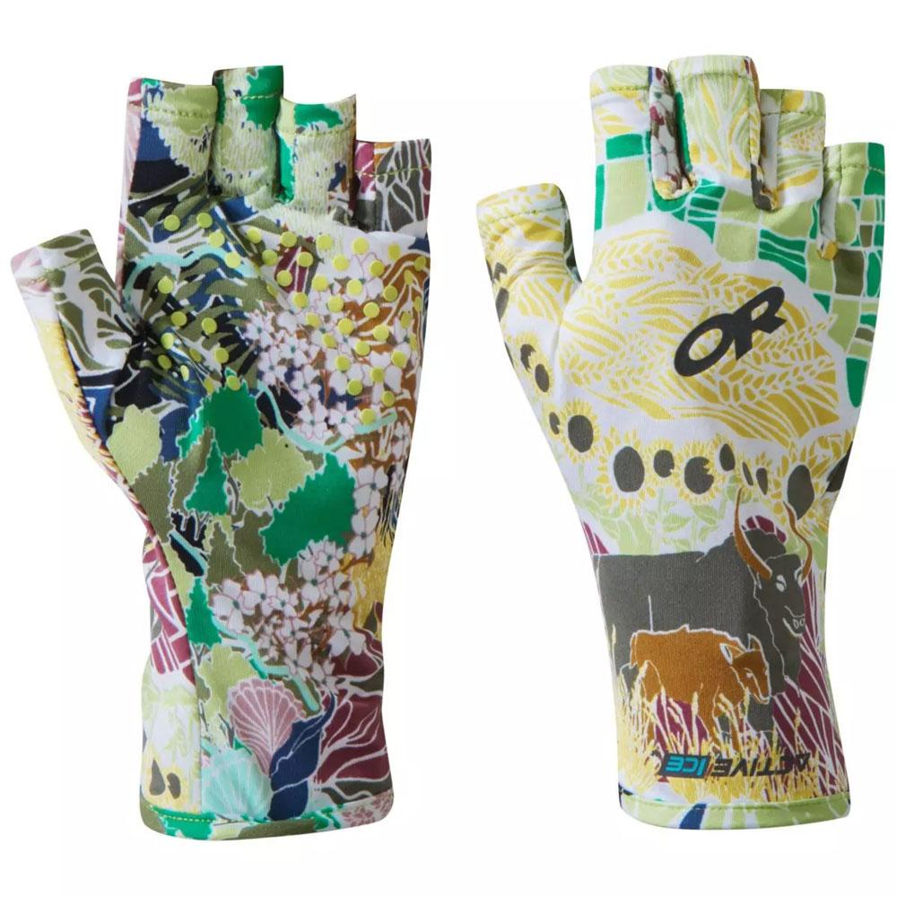 Outdoor Research Other Gear Outdoor Research ActiveIce Spectrum Sun Gloves Printed XS / Wildland OR269284-1548005