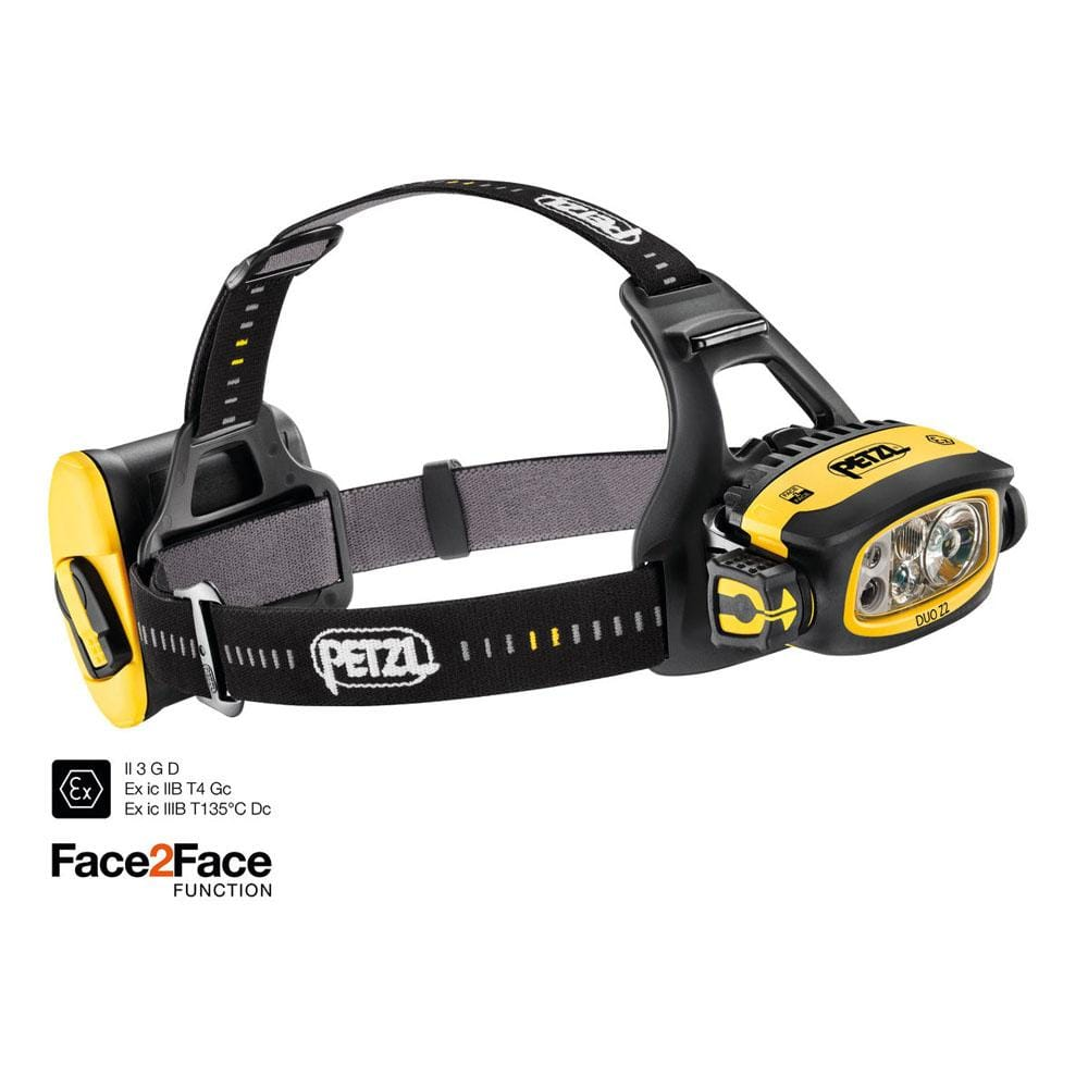 Petzl Industrial Petzl Duo Z2 Headlamp L368,E80AHB