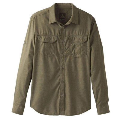 Prana Other Gear Prana Citadel Long Sleeve Shirt Men LG / Green PM21170308-CAGR-L