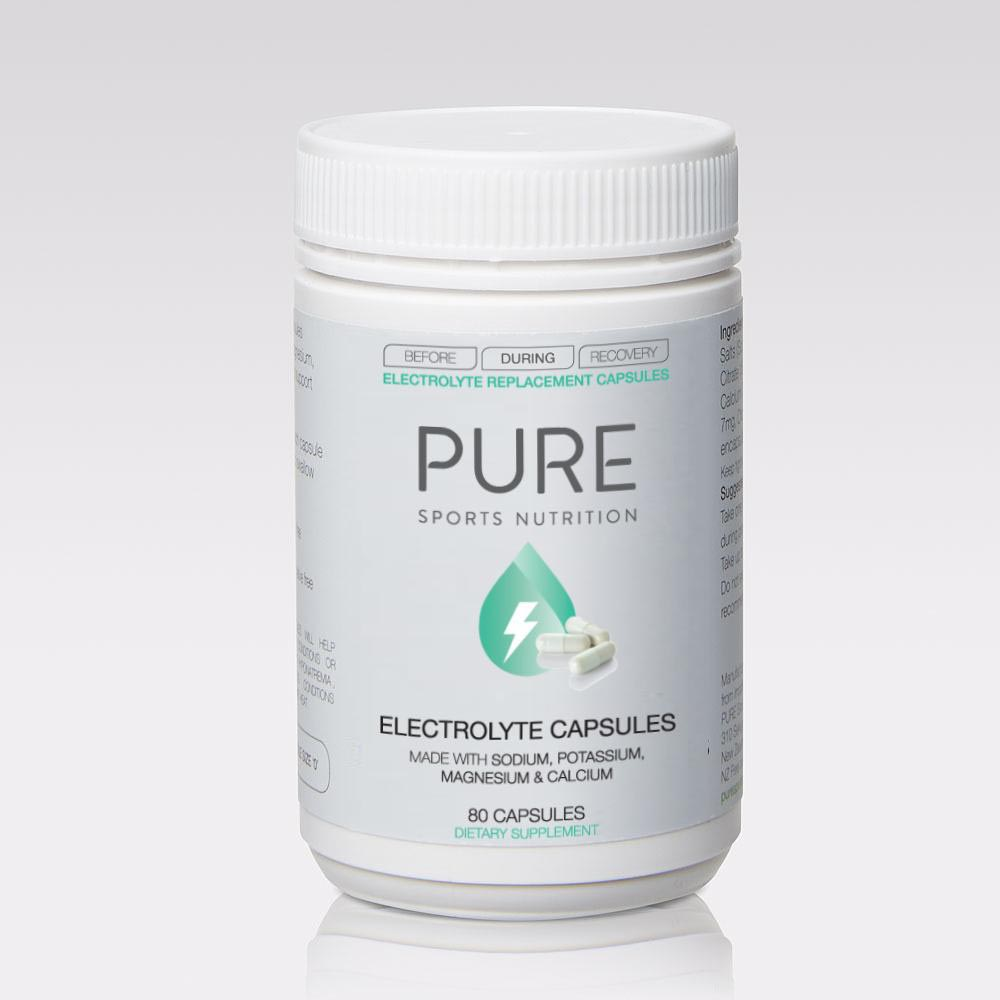 Pure Sports Nutrition Other Gear Pure Electrolyte Capsules PureECAP80