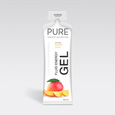 Pure Sports Nutrition Food : Food GST NA Pure Fluid Energy Gel Mango Pure50EGM
