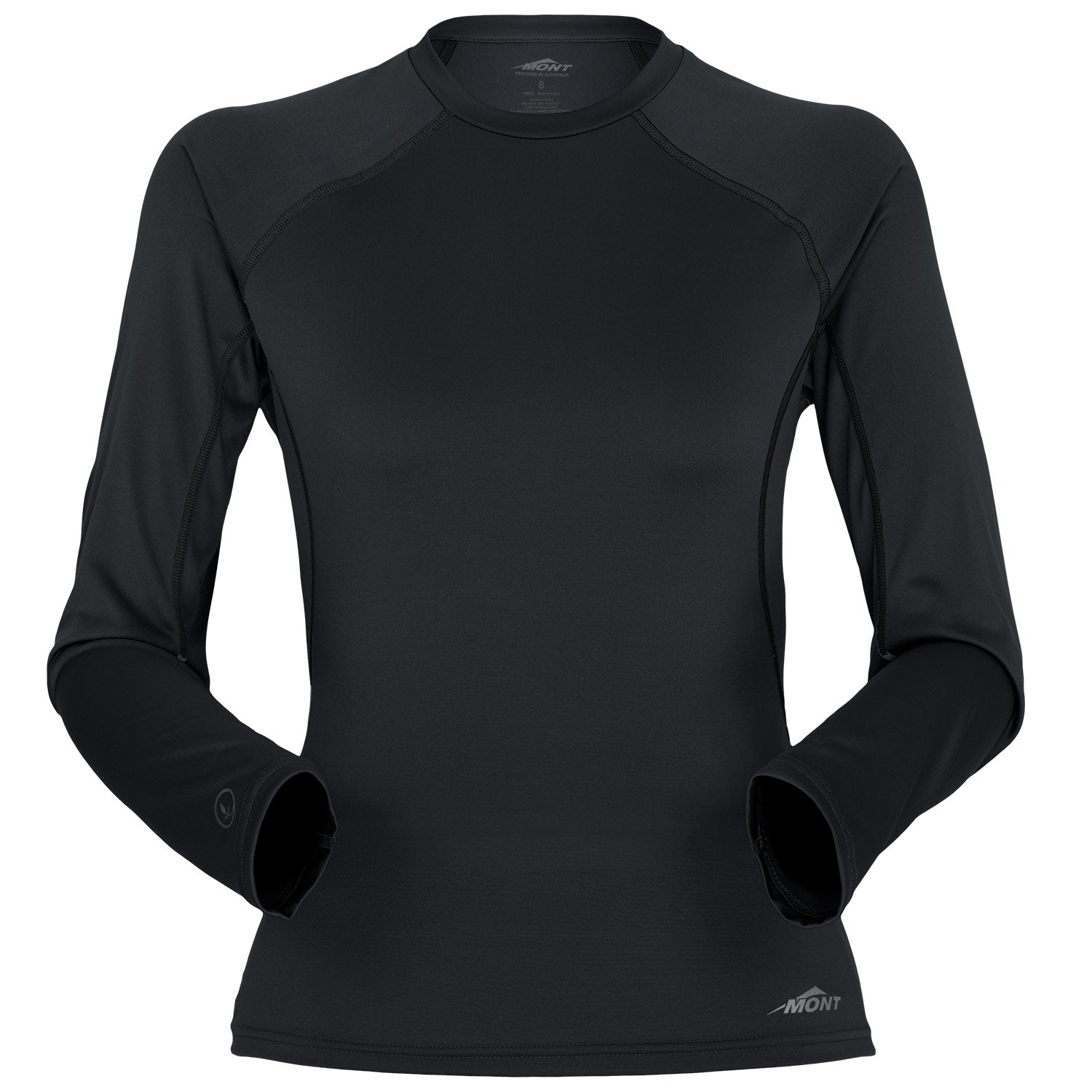 Power Dry Silk Weight Long Sleeve Crew Women