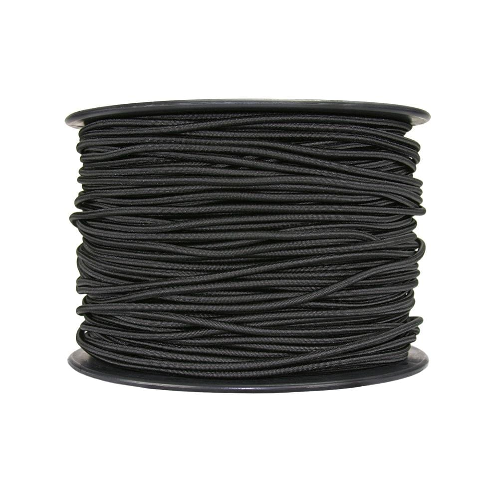 "Sterling Industrial Shock Cord 3mm (1/8"") Per Metre Black SAE30040152"