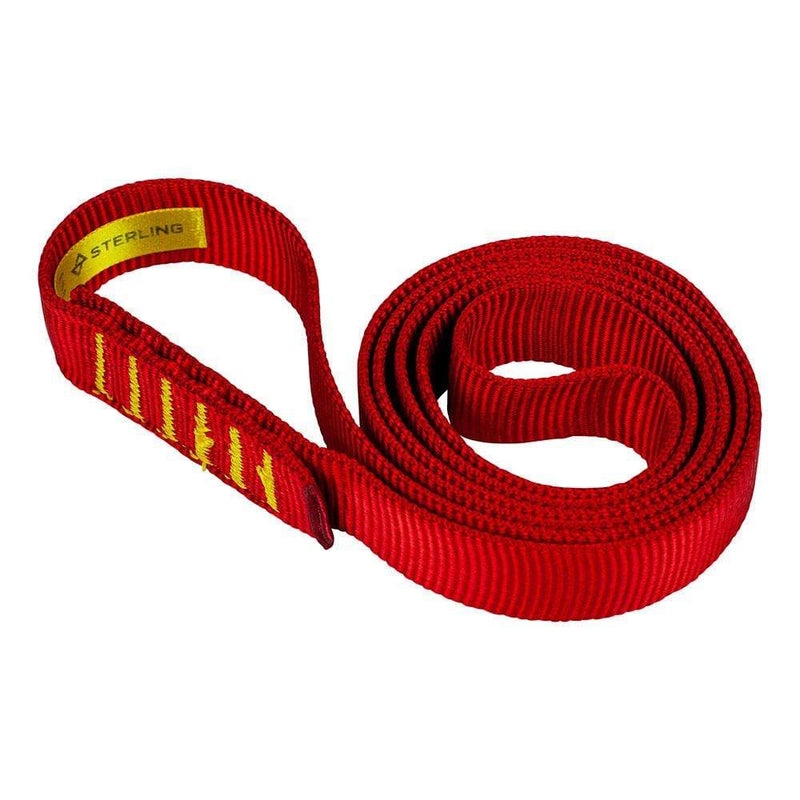 "Sterling Industrial Sterling 1"" Flat Nylon Sling 24"" Red SSW25498RS08024"