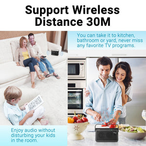 TV - 9000 Wireless TV Speaker With A Transmitter