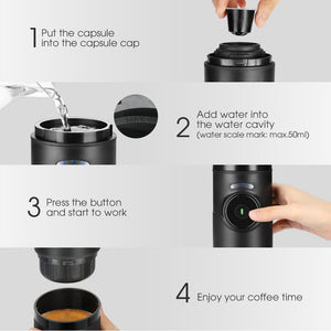 GC - CP008 Portable Coffee Machine