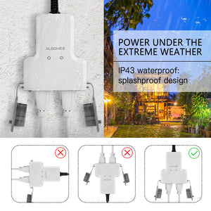 PS - 1606 WiFi Waterproof Smart Plug Socket - 50cm