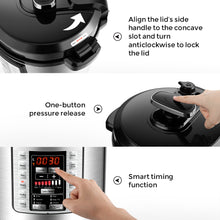 XLTX60-D17FY Multifunctional Electric Pressure Cooker