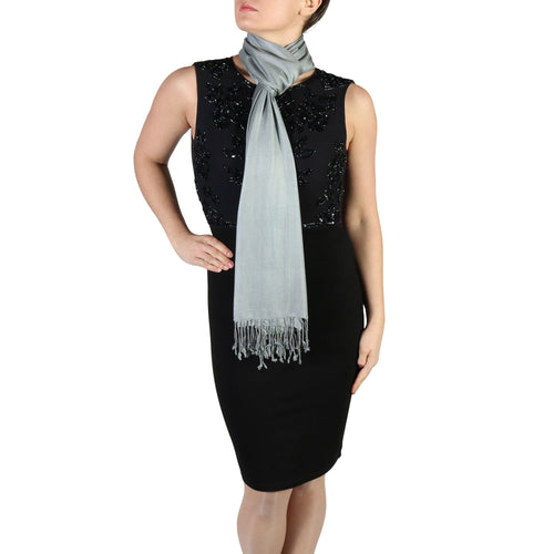 Dark Grey Pashmina Scarf Shawl Wrap