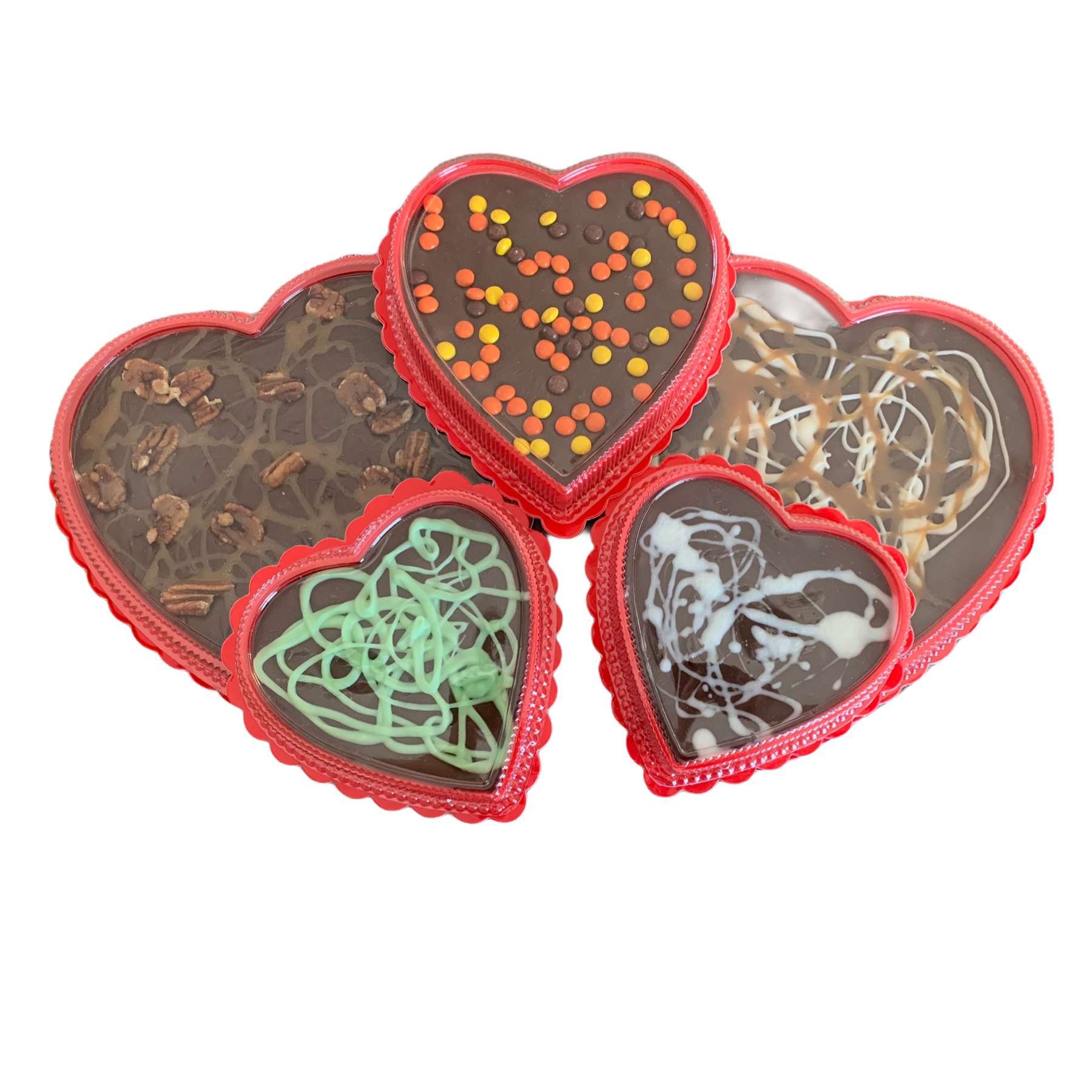 Gourmet Cream & Butter Fudge Hearts Wholesale