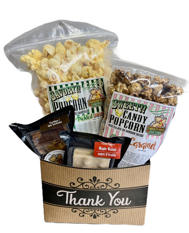 Thank you $25 Fudge/Popcorn Basket