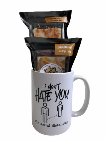 I don't hate you - COVID Sass Coffee Mug